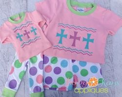 Crosses Faux Smock - The Applique Circle. Have.  Free with membership