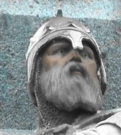 893-942 William I Longsword Duke of Normandy son of a Viking, Rollo. William became a Christian He was babtized by Franco Archbishop of Rouen in 912.  my 27th ggf