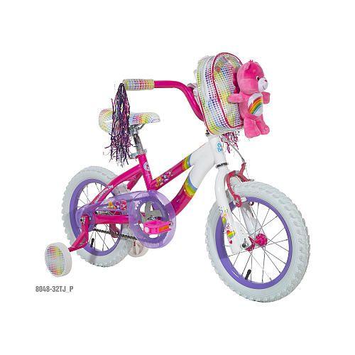 """Girls' 14 inch Care Bear Bike - Dynacraft - Toys """"R"""" Us"""