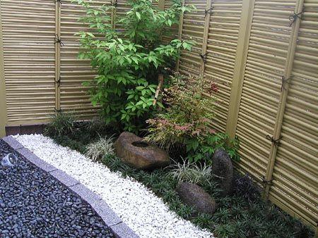 自分で作った坪庭 - わたしのお気に入り