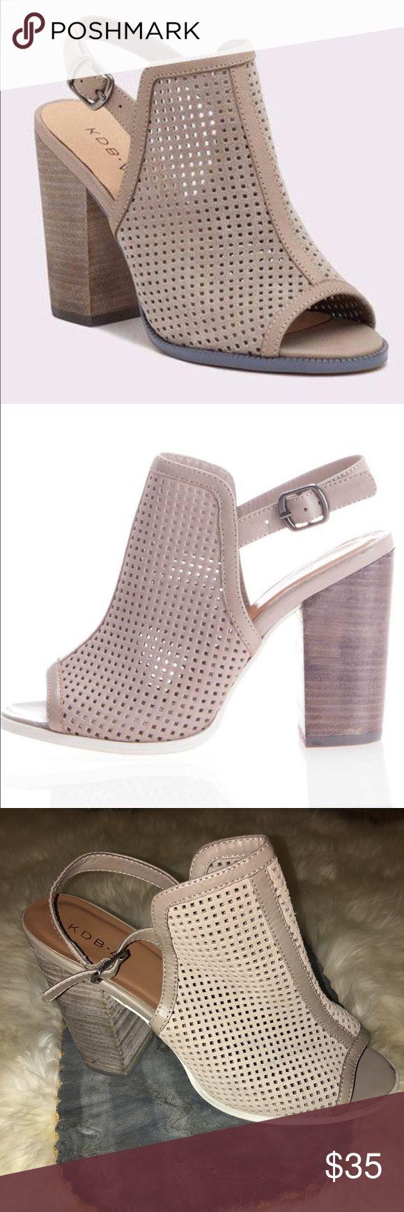 KDB Kelsi Dagger Brooklyn Goya Heels KDB Kelsi Dagger Brooklyn Goya Heels. Retail for $100+. Used, size 10. Kelsi Dagger Shoes Heels