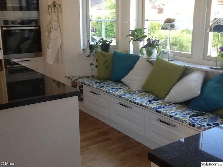 Inbyggd soffa - Inspiration och idéer till ditt hem
