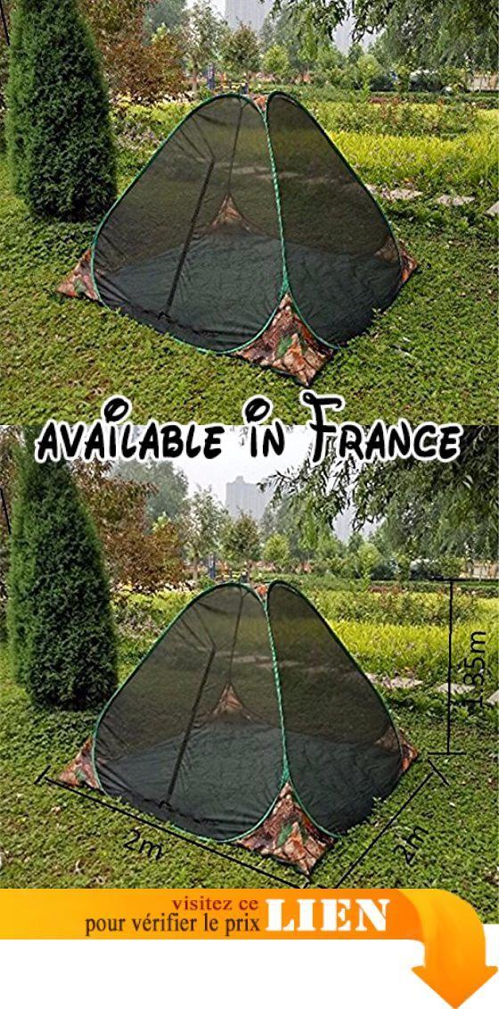 B07585HFM6   Zhudj Direct légère et portable Mosquito Tente à la main  Lancer de type Outdoor Leisure Moustiquaire enfant camouflage. Structure de  t… 138188420713