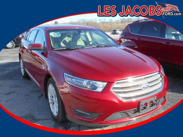 3378 2015 Ford Taurus Sel Sedan V6 Ruby Red With Tan Remote Engine Start Dual Zone Climate Control Keyless Entry Local Tra Ford Sales Ford Dealership