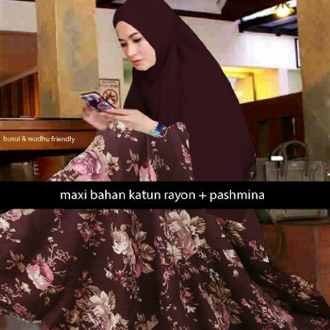 Allarda Flowery Flare Muslim Set