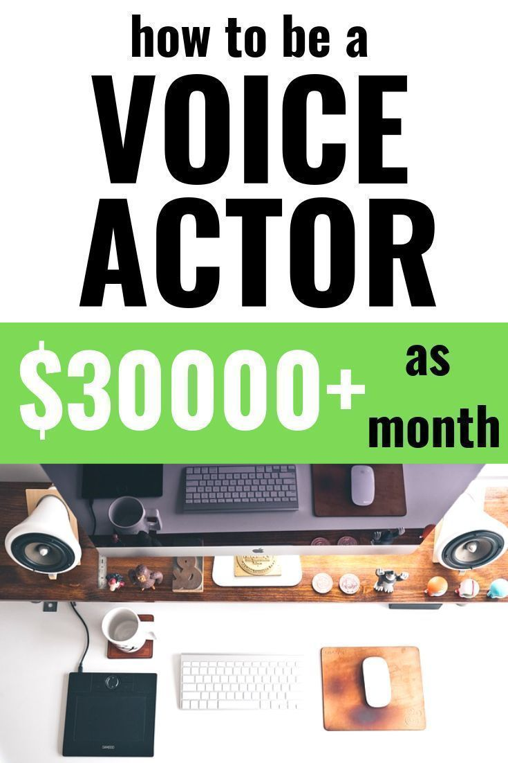 Detailed guide on voice over jobs: A legit work at home option! – Olivia Johnson | Video Producer + Writer + Content Creator