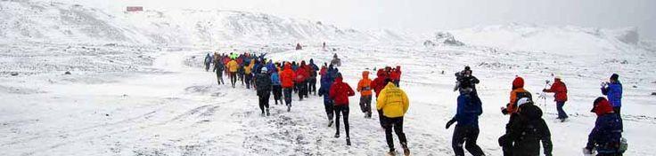 Antarctica Marathon & Half-Marathon.  Running a race on all 7 continents?  This sounds absolutely insane.