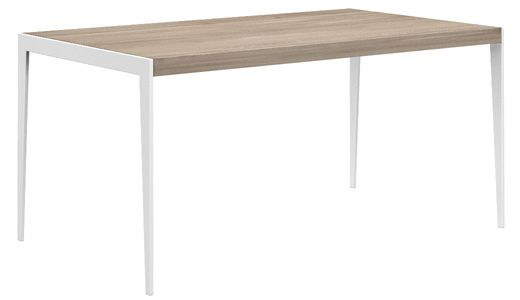 Stół kuchenny UP2U, kolor: 02 Pure, biały mat, wymiar: 160x80x76. Miloni.pl
