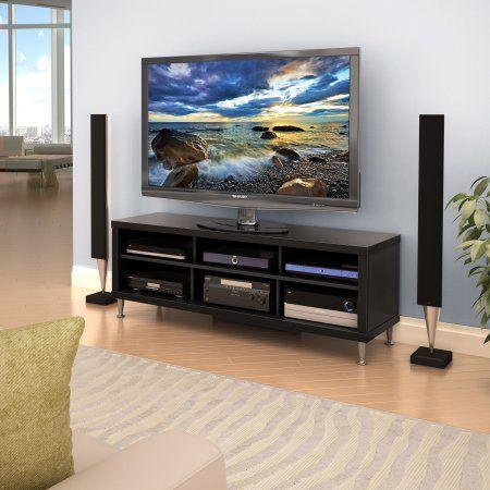 Series 9 Designer 55 inch TV Stand, Black