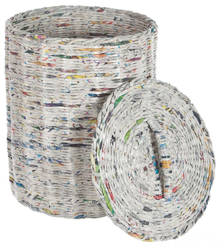Emax Domina | Berichten | Met krantenpapier een tweede leven
