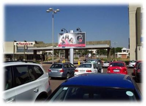 Parkview Mall , PTA, Gauteng.    Facing the exit traffic at the centre. Situated at the intersection of Garsfontein and Netcare street in Pretoria East. Opposite Pretoria East Hospital and Woodhill Golfing Estate, Pretoria.