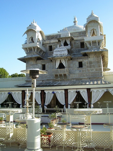 """'Jagat Mandir' is a palace built on an island in the Lake Pichola. It is also called the """"Lake Garden Palace"""". The palace is located in Udaipur,Rajasthan, India. Its construction is credited to three Maharanas of the Sisodia Rajputs of Mewar kingdom. The construction of the palace was started in 1551 by Maharana Amar Singh, continued by Maharana Karan Singh and finally completed by Maharana Jagat Singh I . It is named as """"Jagat Mandir"""" in honor of the last named Jagat Singh"""