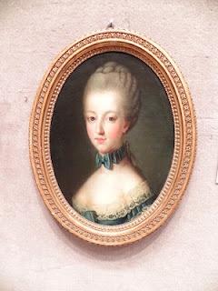 portrait miniature of Marie-Antoinette