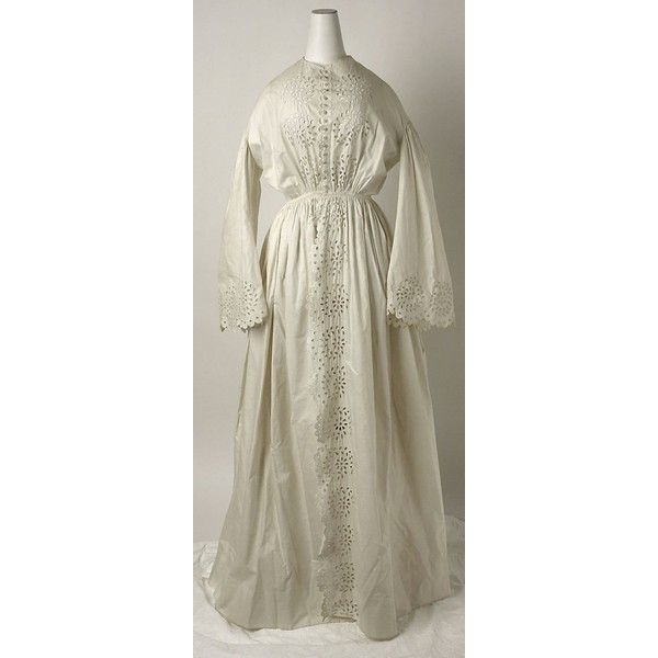 Period Dress 1837 to 1901 (Victorian) ❤ liked on Polyvore featuring dresses, brown dress, lacy dress, victorian dress, brown lace dress and victorian lace dress