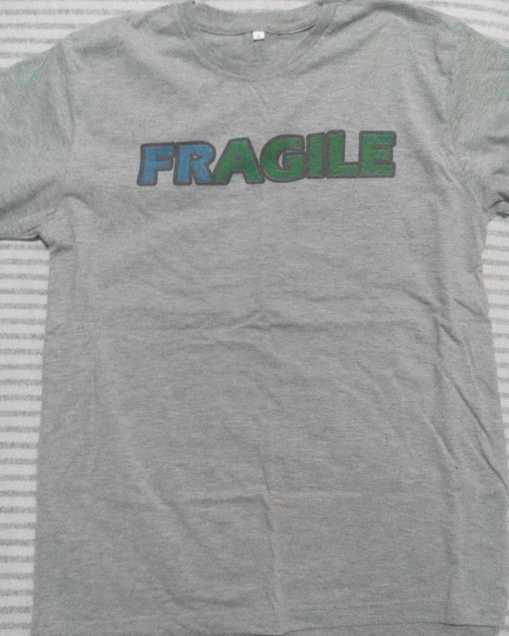 fragile / agile #shirts #printed #graphic #DIY