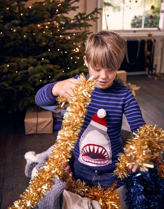 Woozle Fleece 1 12 Years Boys Christmas Sweaters Boy Outfits