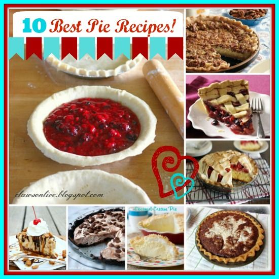10 Great Pie Recipes!