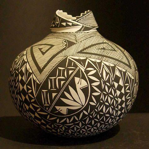 Shauna Rustin  Acoma via Andrea Fisher Pottery