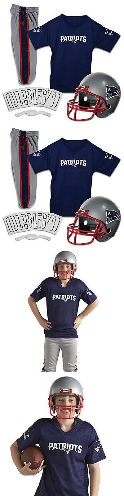Dress-Up Costumes 19172: Franklin Sports Nfl New England Patriots Deluxe Youth Uniform Set, Medium -> BUY IT NOW ONLY: $33.14 on eBay!