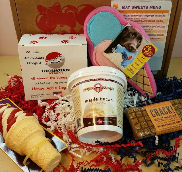 59 best pet subscription box reviews and coupon codes images on bits and boxes pooch party packs may 2015 box review and 75 off negle Choice Image