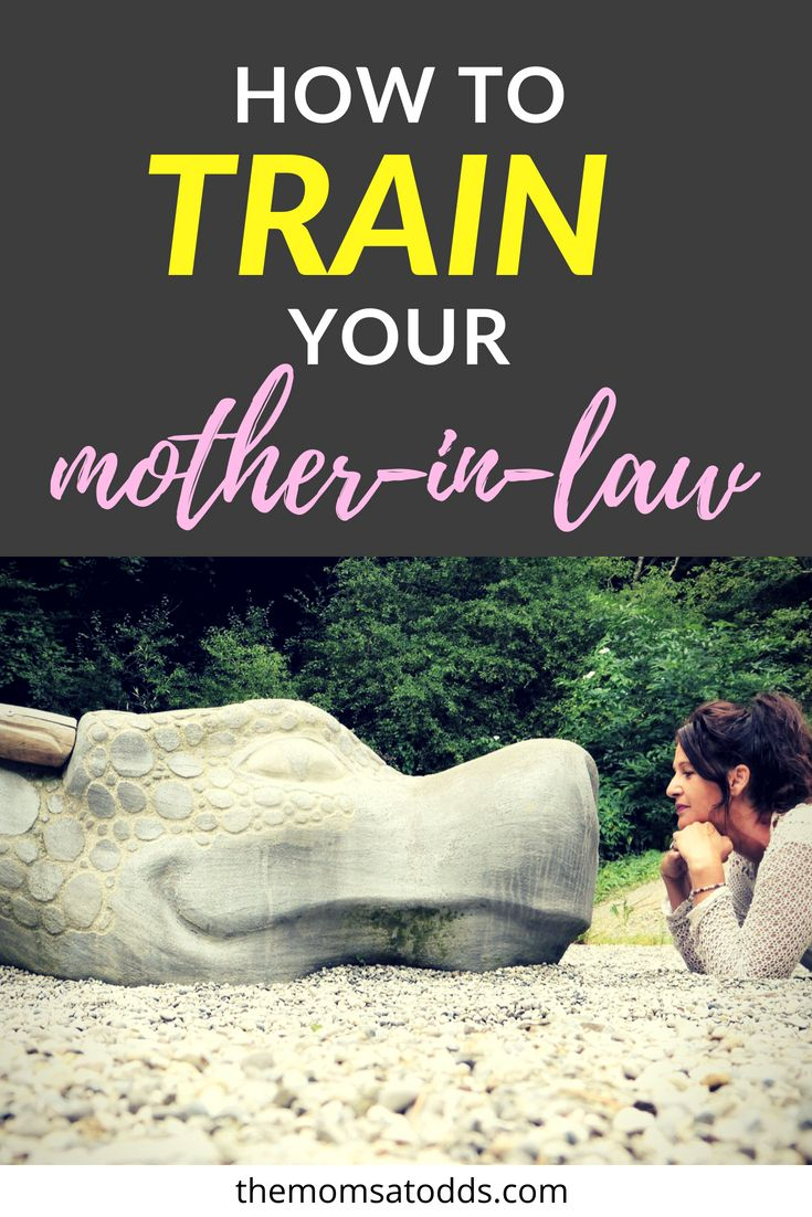 How to Get Along with your Mother-in-Law | The Moms at Odds | Mother