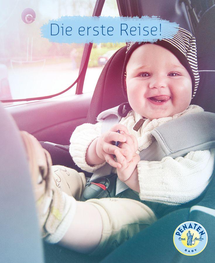 Erste Flugreise, lange Autofahrt … Mit kleinem Baby ist alles noch aufregender! Hier gibt's Tipps für eure erste Reise. #baby #travel #baby2016 #firstvacation #firstflight