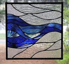 image result for ocean waves template stained glass patterns