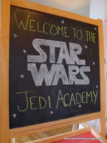 That Mommy Blog: My Baby is a Jedi: a Star Wars Birthday Party