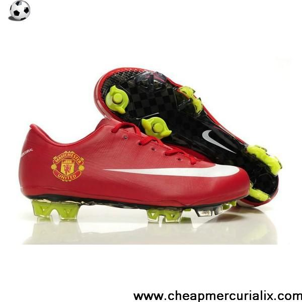 Fashion Nike Mercurial Vapor Superfly III FG National Team Manchester united Red Soccer Boots For Sale