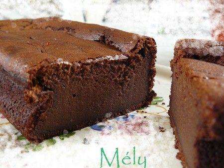 Moelleux chocolat / ricotta > Gateaux, cakes, tartes, muffins & biscuits > Chaudron Pastel de Mély