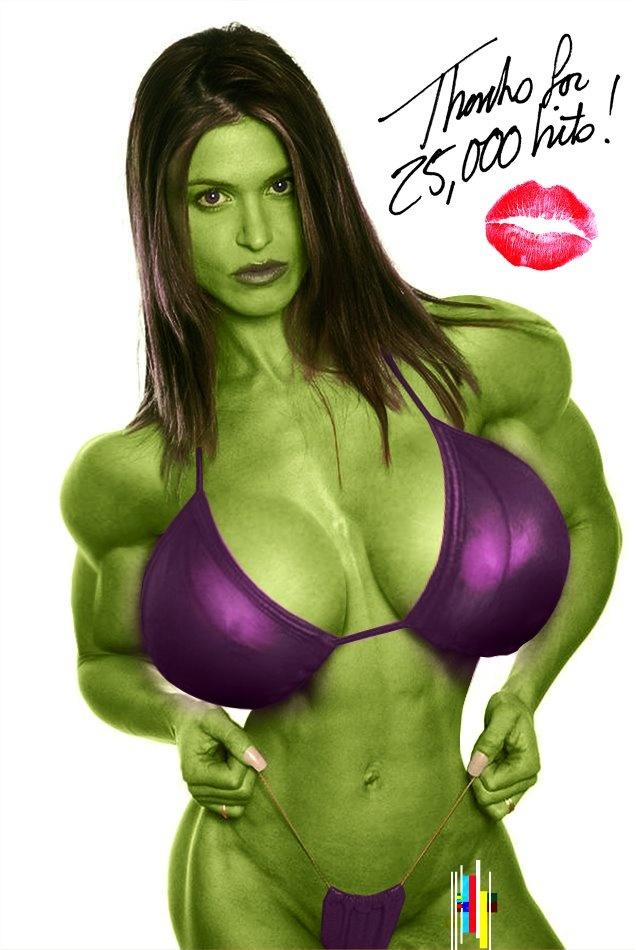 nude She hulk cosplay