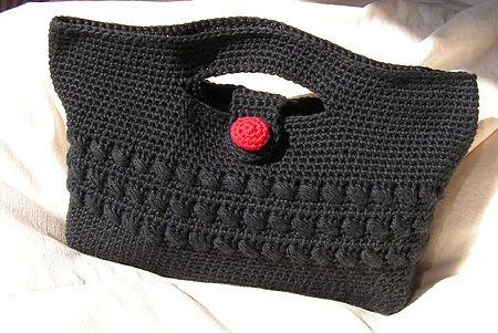 de fil en aiguille: Pochette au crochet