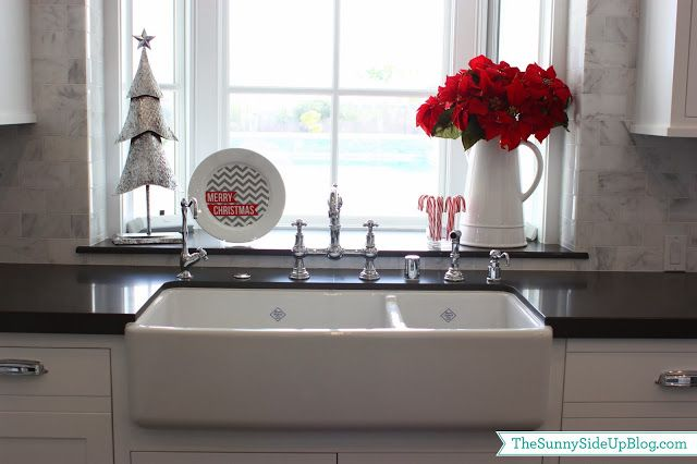 Sunny Side Up:  sprucing up the kitchen sink