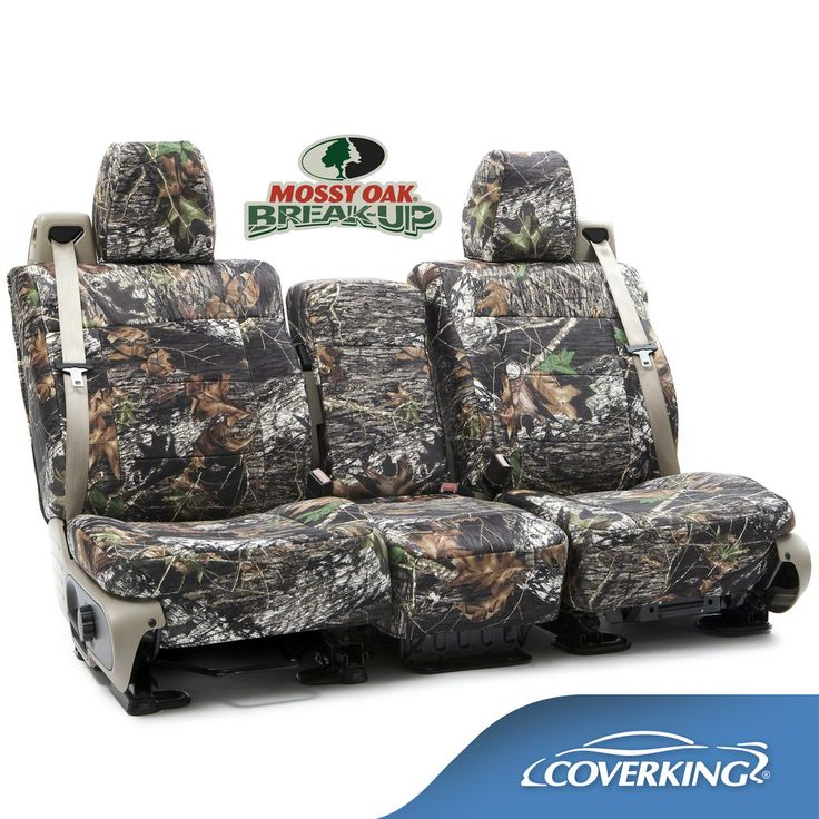 Chevy Silverado 1500 2500 3500 Custom Fit Seat Covers In Mossy Oak Camo Pattern