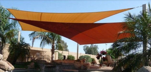 Deck Shade Sail Canopy Sun Protection - Be Cool, Look Good, DIY Prices 1-Day Shipping