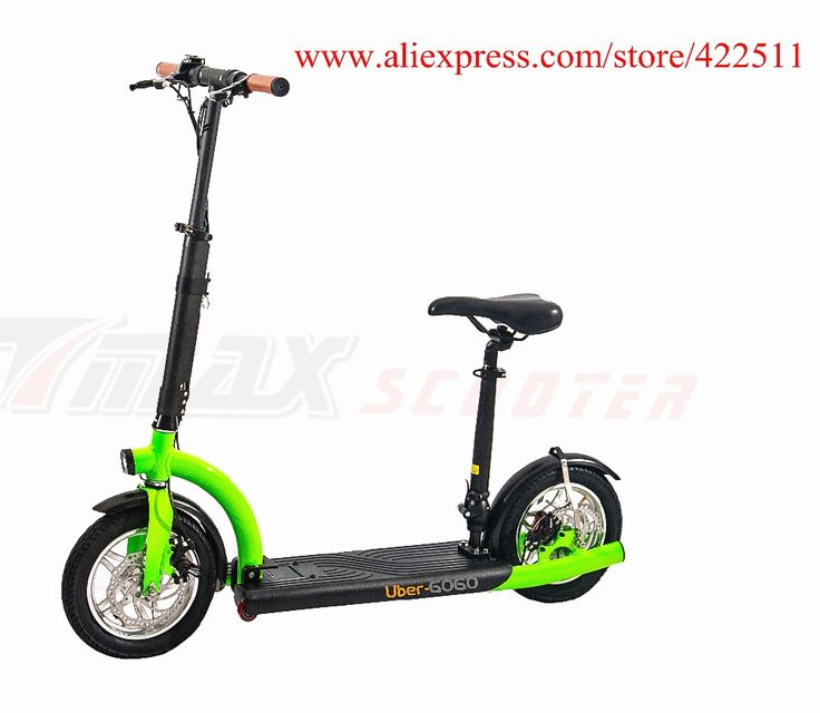 2016 Brand New 300W 36V Hub-motor Electric Scooter 10.4Ah Lithium Battery 2 Wheel Electric Scooter with Seat ** This is an AliExpress affiliate pin.  Click the image to visit the AliExpress website