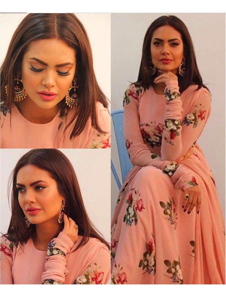 Anarkali sawar kameez shalwar bollywood indian pakistani designer look for girls #Handmade #SalwarKameez