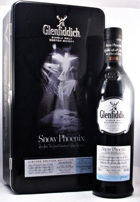 """Glenfiddich Snow Phoenix 47.6% 70cl  A very rare and collectible Limited Edition of Glenfiddich Single Malt Scotch Whisky. """"Snow Phoenix """" Risen from the Great Warehouse Collapse of 2010"""""""