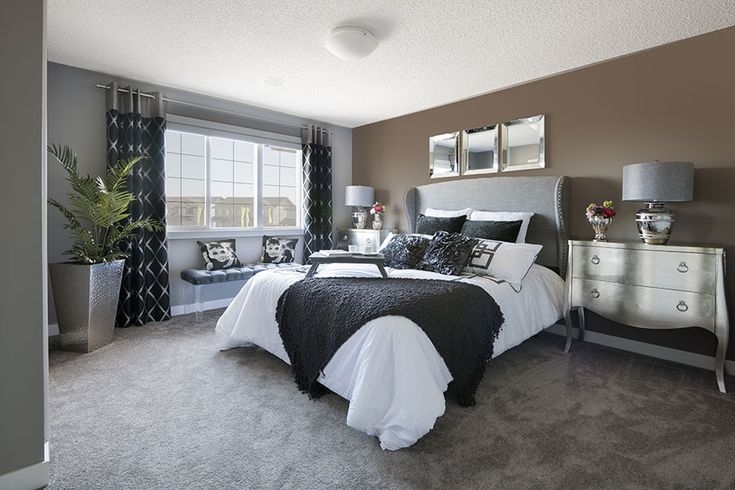 Adore this master bedroom, so pretty.