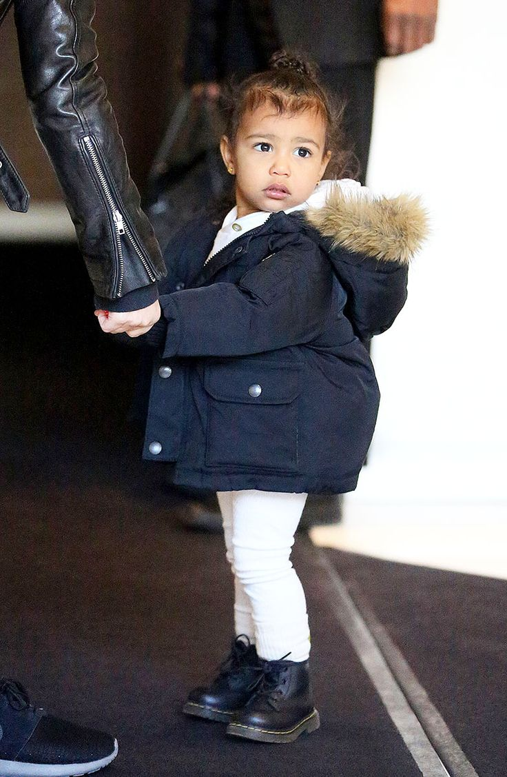 First Toddler of Fashion North West: You know you've arrived when you can throw front-row tantrums and upstage Kimye just by showing up. Photo: Splash News