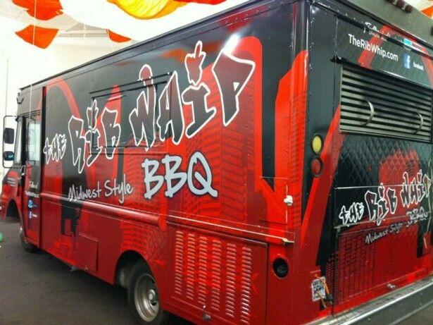 The Rib Whip Food Truck, San Francisco