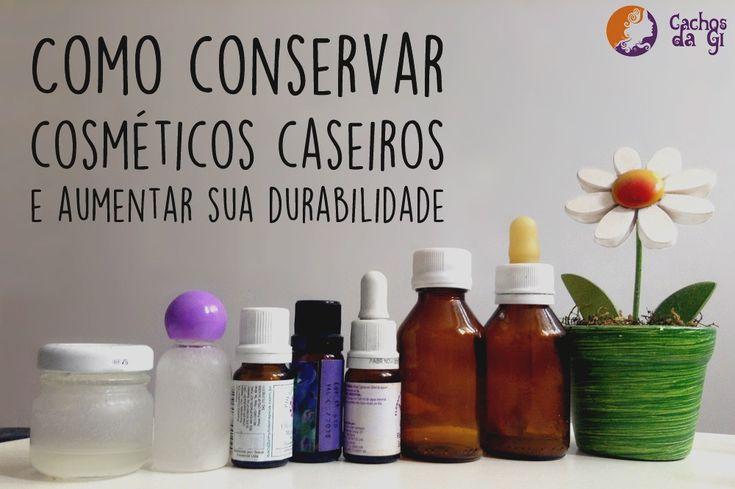 Como conservar cosméticos caseiros e aumentar sua durabilidade – Cachos da Gi | por Giovanna Oaken - óleos essenciais e vegetais - henna - cabelo cacheado - vegano - vegan - receita