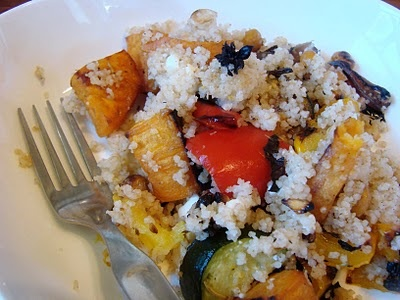 Livin' on the Vedge - Couscous Salad (Eat Shrink & Be Merry)