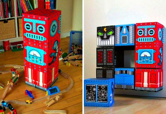 Robot storage unit - For Kelly!