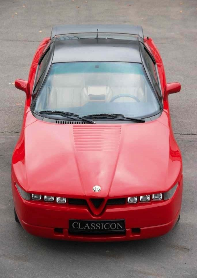 The Alfa Romeo SZ / RZ (Sprint Zagato) or ES-30 is a high-performance limited-production sports car built in 1989–1991 (SZ) 1992–1994 (RZ)
