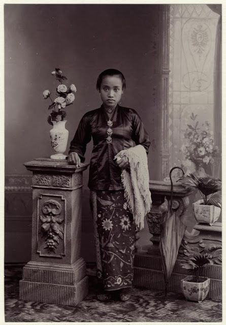 The Beauty of Girl from Java - 1909 by Perkins, Charlton B.