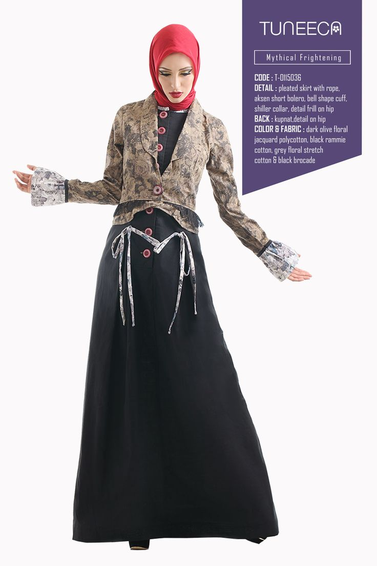 Are You Maleficent? by Tuneeca   #tuneeca #muslimwear #hijab #fashion #casualwear #tuneeca #muslimwear #hijab #fashion