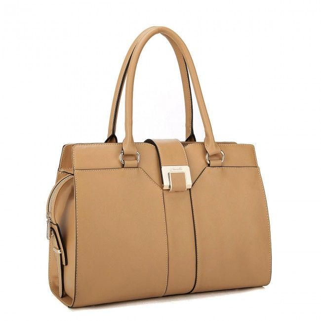 Genuine Leather designer handbag Apricot - Buy it now at www.tysiza.com - Free Worldwide shipping on select products!