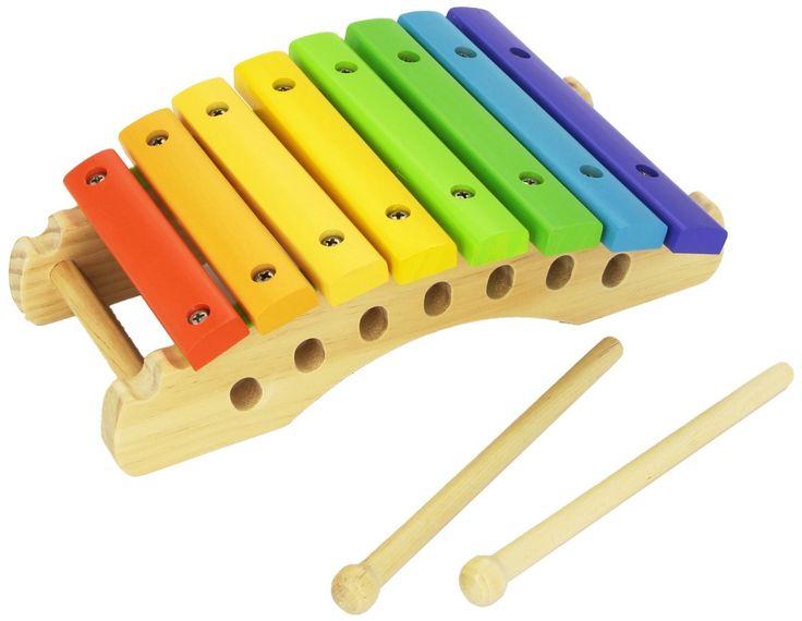 Permet d'initier bébé à la musique et aux différentes #couleurs #xylophone #bois #chicco #musique:instrument