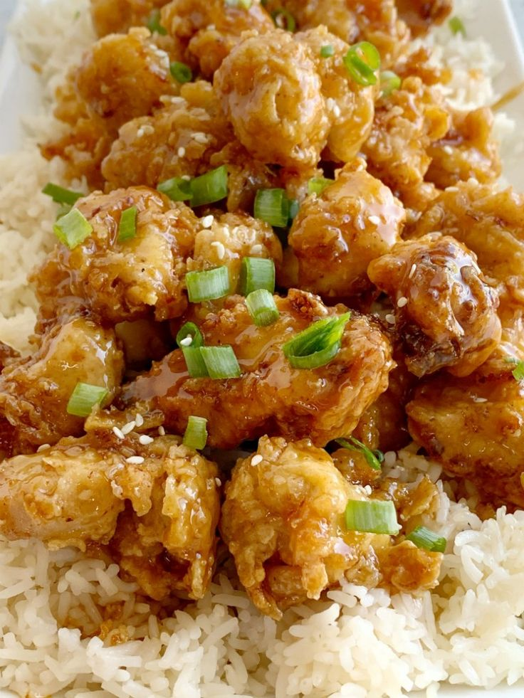 Honey Chicken has the crispiest, most delicious coating ever! Chunks of chicken …